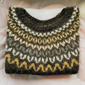 Adult Heima,sweater design by North Child.