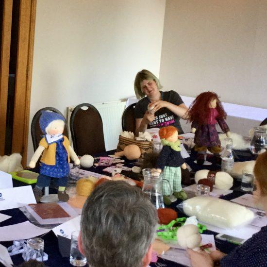 North Child Waldorf doll-making workshop at Perth 2017