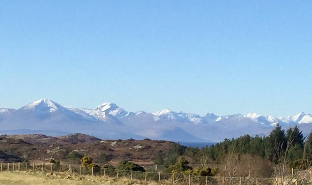 The Cuillin from my home