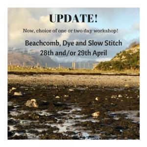 New options for April's workshop